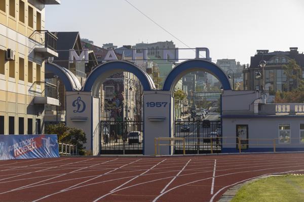 Легкоатлетическое ядро стадиона «Динамо» открыли после реконструкции